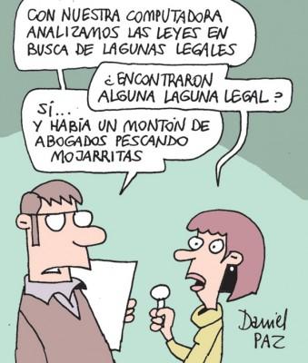 """laguna-legal"" por Daniel Paz"