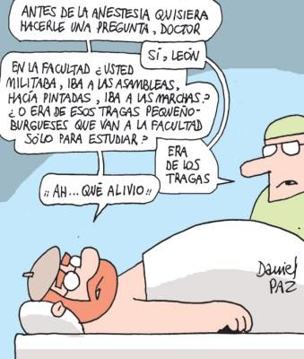 """""""tragas"""" por Daniel Paz"""