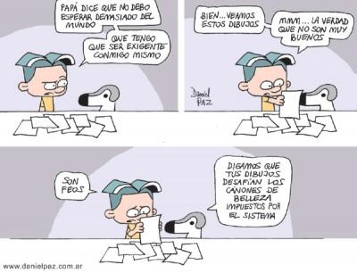 """""""dibujos-feos"""" por Daniel Paz"""