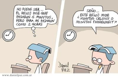 """""""minutos"""" por Daniel Paz"""