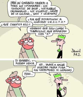 """""""veganos"""" por Daniel Paz"""