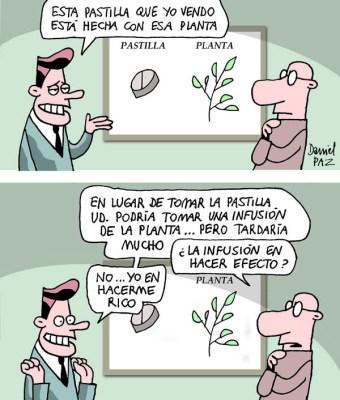 """""""la pastilla"""" por Daniel Paz"""