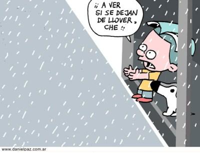 """lluvia"" por Daniel Paz"