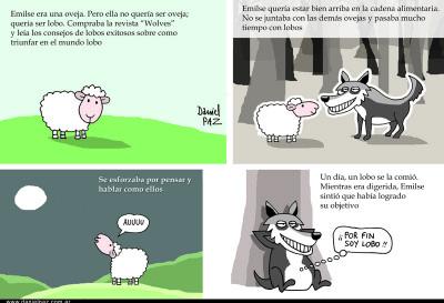 """""""La oveja Emilse"""" por Daniel Paz"""