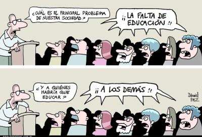 """educacion"" por Daniel Paz"