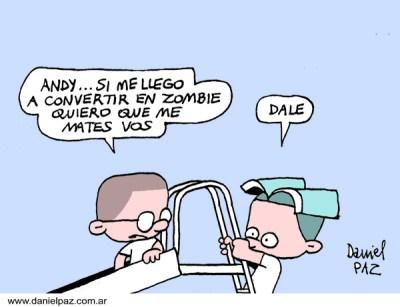 """""""zombies"""" por Daniel Paz"""