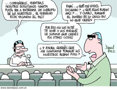 """corrupcion"" por Daniel Paz"