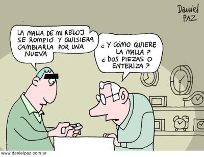 """""""relojero"""" por Daniel Paz"""