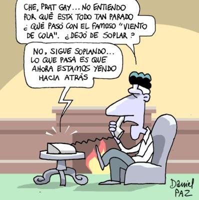 """""""viento de cola"""" por Daniel Paz"""