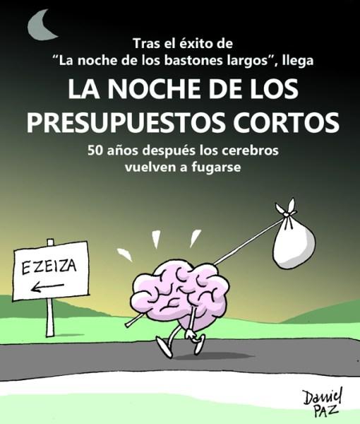"""""""fuga-de-cerebros"""" por Daniel Paz"""
