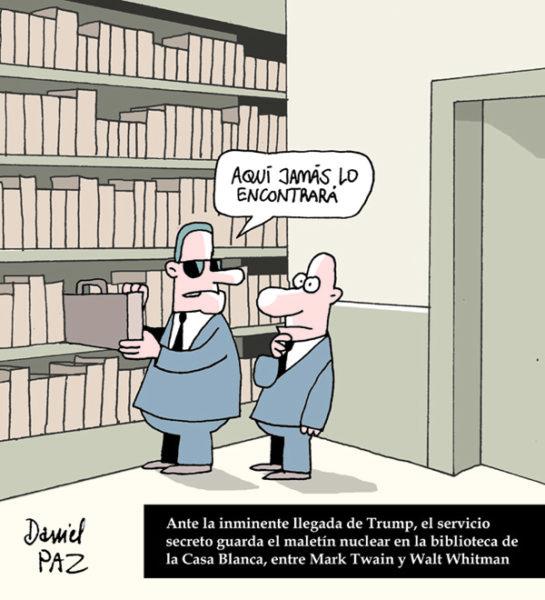 """trump"" por Daniel Paz"