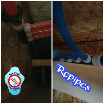 Water Repipe your Home with Pex Pipe No More SLAB LEAKS
