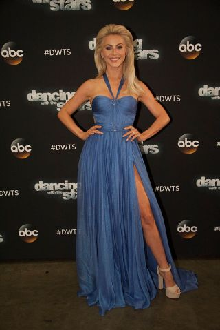 "DANCING WITH THE STARS - ""Episode 2306"" - The nine remaining celebrities ready themselves for one of the hottest nights in the ballroom - Latin Night - with each celebrity performing either a rumba, salsa, samba, paso doblé, cha cha or Argentine tango, on ""Dancing with the Stars,"" live, MONDAY, OCTOBER 17 (8:00-10:01 p.m. EDT), on the ABC Television Network. (Eric McCandless/ABC via Getty Images) JULIANNE HOUGH"
