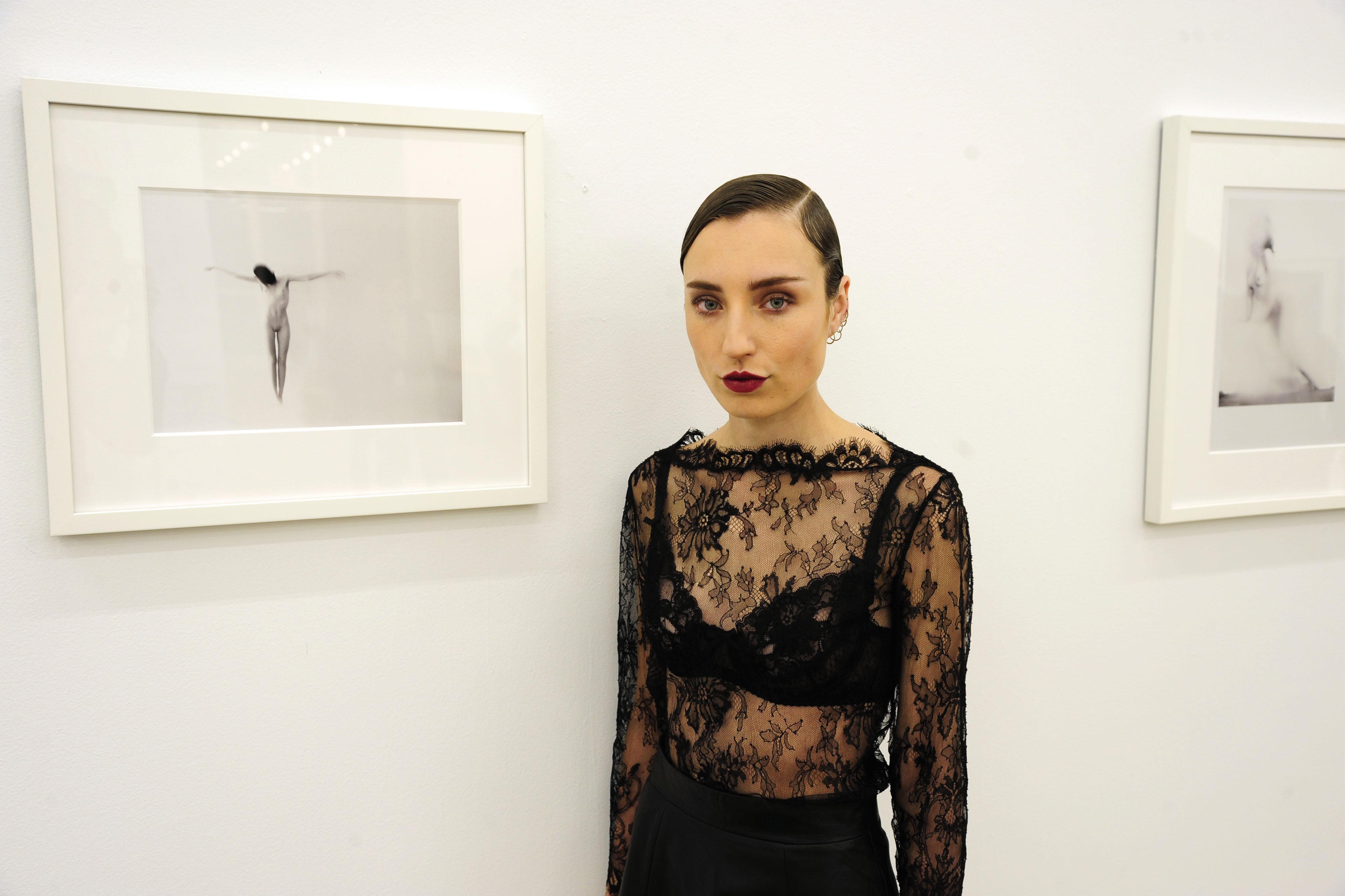 "Kristin Prim== Kristin Prim ""Close To You"" Debut New York City Exhibition == 516 West 20th Street, NYC== November 21, 2016== ©Patrick McMullan== Photo - Paul Bruinooge/PMC== =="