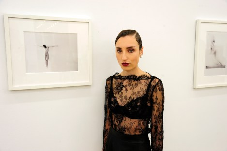 "Kristin Prim== Kristin Prim ""Close To You"" Debut New York City Exhibition == 516 West 20th Street, NYC== November 21, 2016== ©Patrick McMullan== Photo - Paul Bruinooge/PMC== =="