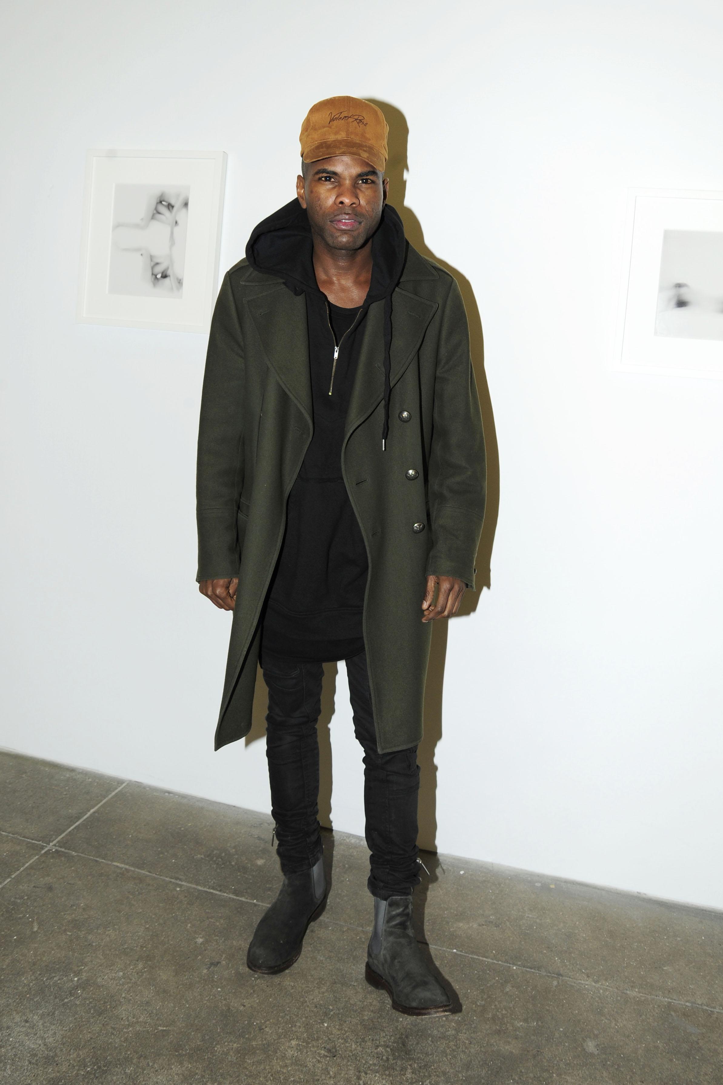 "Keino Benjamin== Kristin Prim ""Close To You"" Debut New York City Exhibition == 516 West 20th Street, NYC== November 21, 2016== ©Patrick McMullan== Photo - Paul Bruinooge/PMC== =="