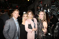 NEW YORK, NY - FEBRUARY 08: Stassi Schroeder (2nd L), Cristina Gibson (R) and guests attend E!, ELLE & IMG celebration to kick-off NYFW: The Shows on February 8, 2017 in New York City. (Photo by Donald Bowers/Getty Images for NBCUniversal)