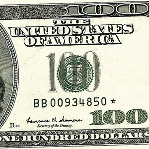 H23 BB00934850 * ...my $100 'star note'