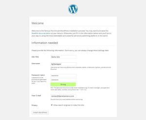 wp_installation