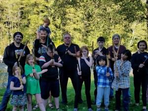 Kali workshop at Darin's
