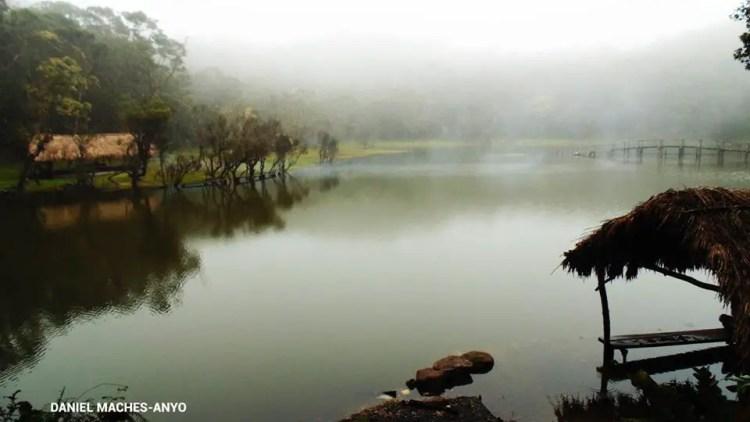 Lake Tufub during rainy months.