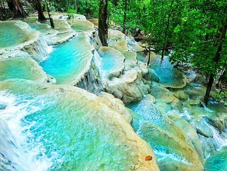 Kaparkan Falls is one of the new tourist destinations in the Philippines