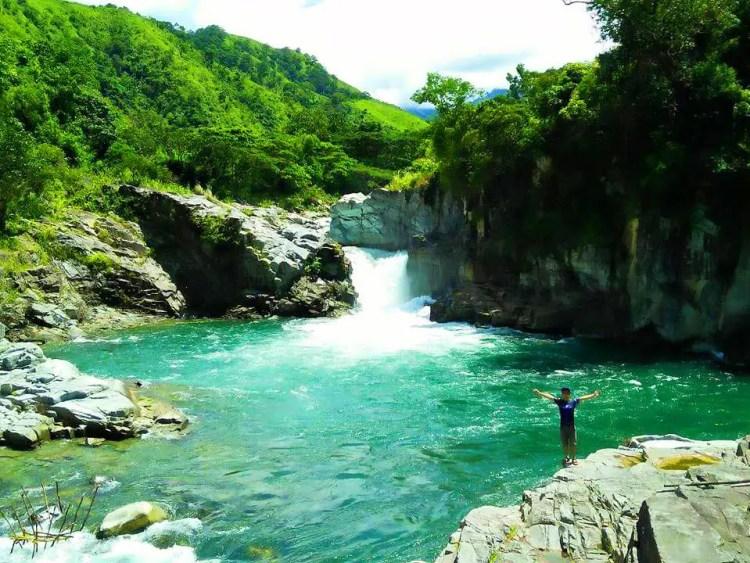 Kili falls in Tubo. One of the tourist spots of Abra.