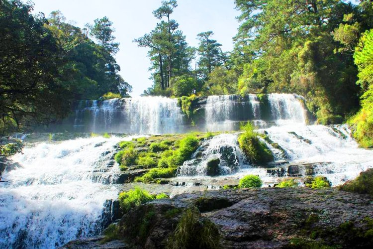 Daoyasan Falls. One of the tourist spots in Besao, Mountain Province.