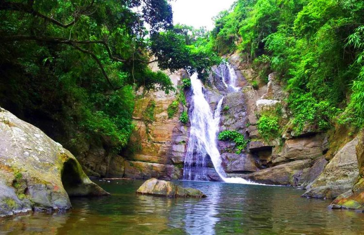 Towing Falls. One of the waterfalls in Benguet.