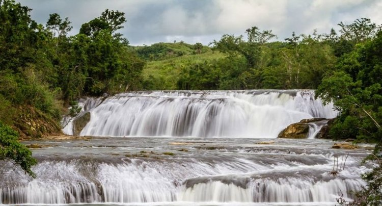 Lulugayan Falls is one of the tourist spots in Samar Island.