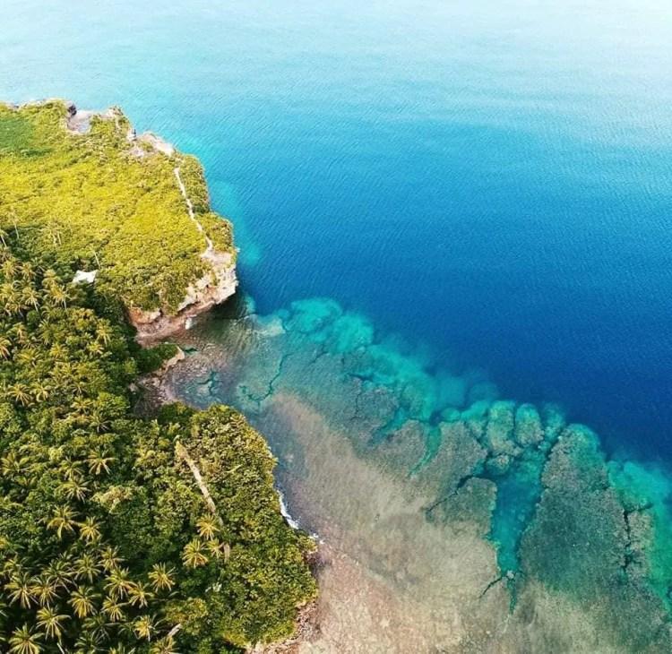 Minasangay Island Marine Eco-Park is one of the tourist spots in Eastern Samar.