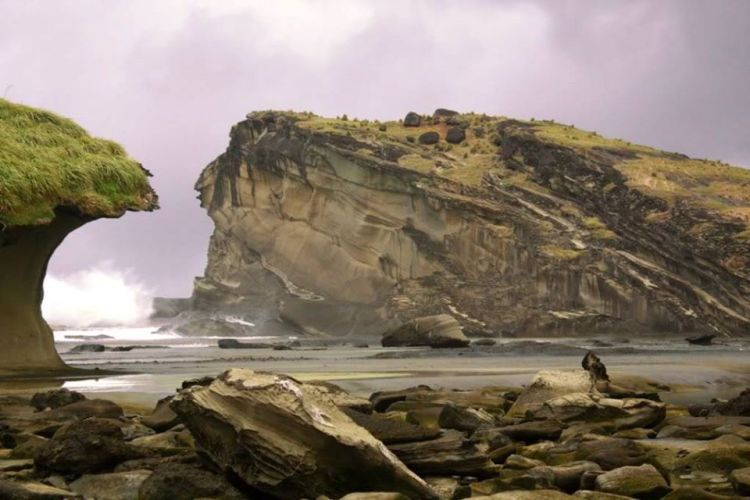 The Biri Island Rock Formation is one of the tourist spots in Northern Samar.