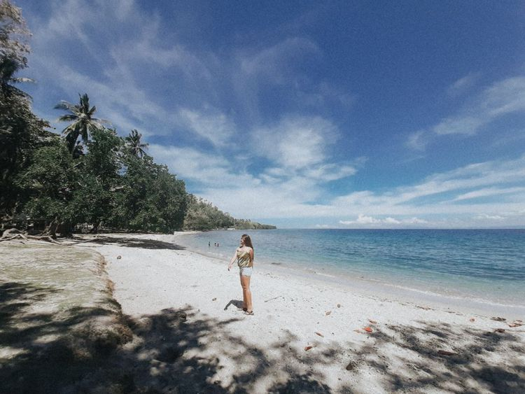 Bolihon Beach is one of the tourist spots in Agusan del Norte