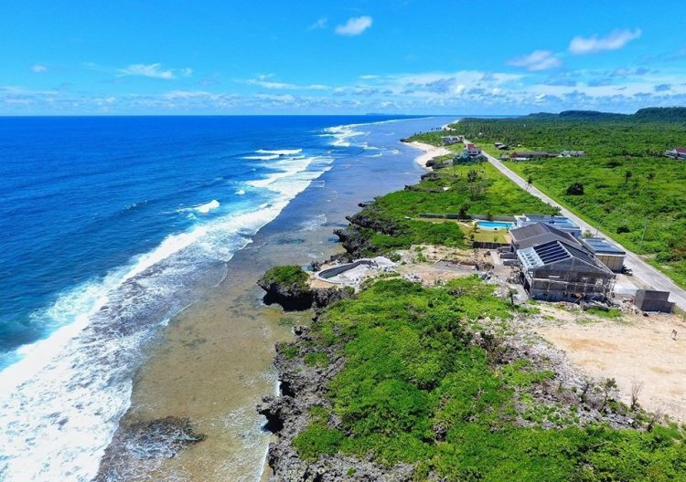 Calicoan Beach is one of the tourist spots in Eastern Samar.