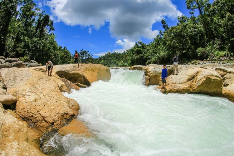 Ulot River is one of the tourist spots in Samar Island.