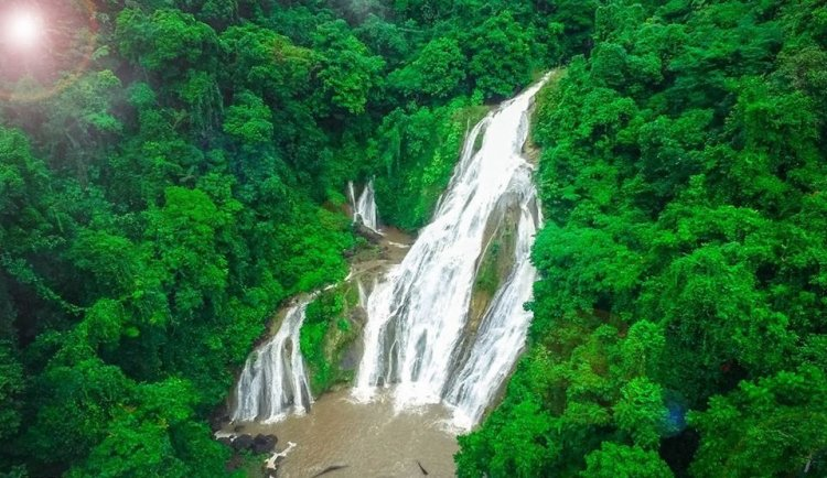 Bega Falls is one of the tourist spots in Agusan del Sur