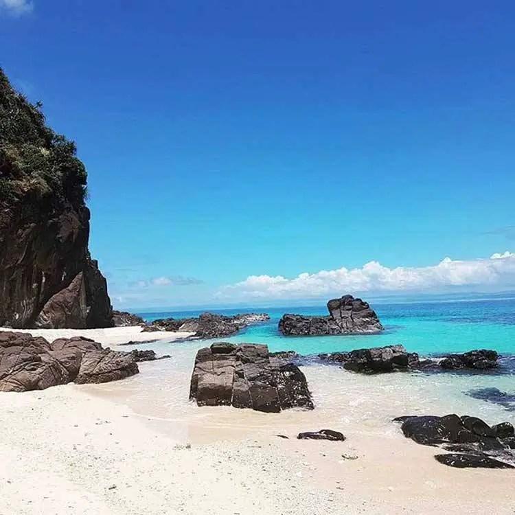 Homonhon Island is one of the tourist spots in Eastern Samar.