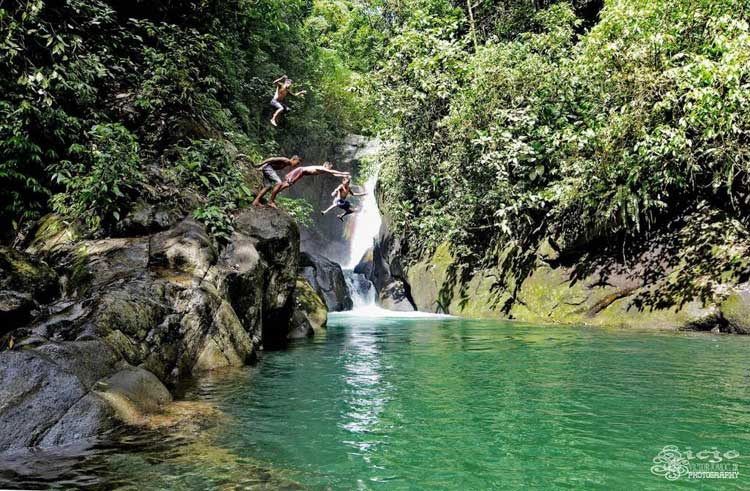 Sak-a Falls is one of the tourist spots in Agusan del Norte