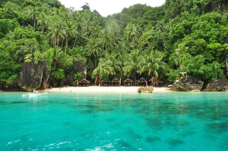 Bitaog Beach is one of the popular Dinagat Island tourist spots.