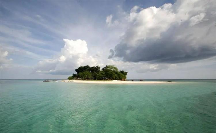 Pandilusan Island is one of Zamboanga Sibugay tourist spots