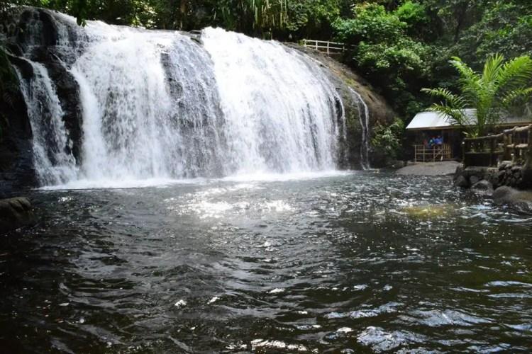 Cagpangi Falls is one Surigao Del Sur tourist spots.
