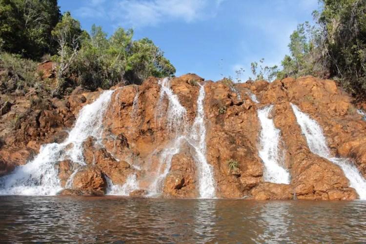 Dako Falls is one of the tourist spots in Dinagat Islands.