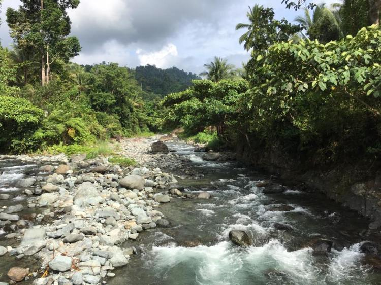 Pangi River is one of the best Sarangani tourist spots