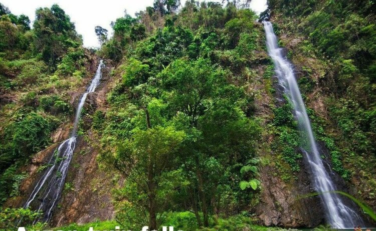 ANZAP Twin Falls is one of Tarlac tourist spots.
