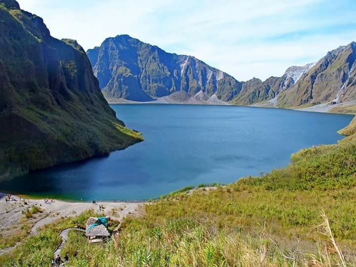 Mt Pinatubo is one of Tarlac tourist spots.