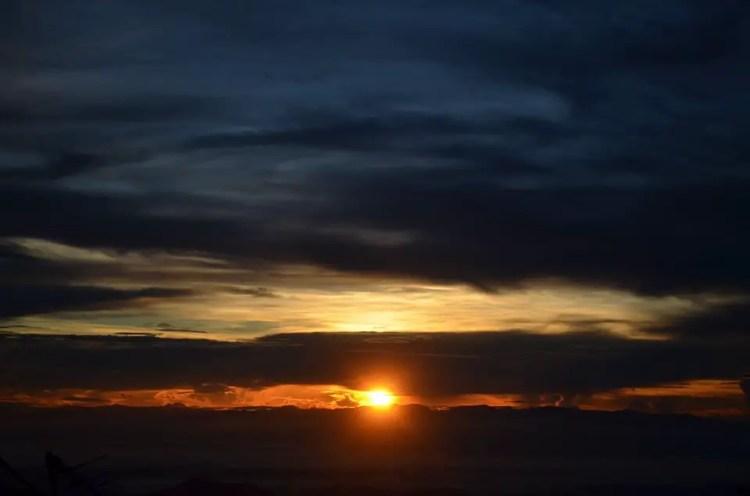 Sunrise at Mt Amuyao
