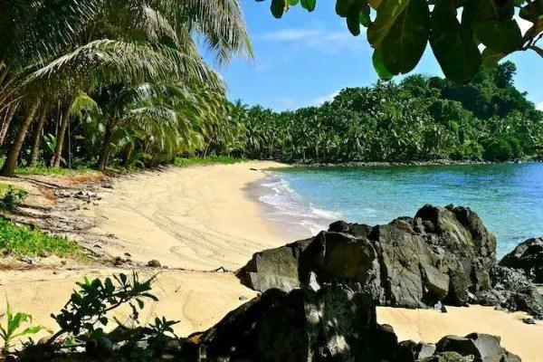 Ayoke Island is one Surigao Del Sur tourist spots.