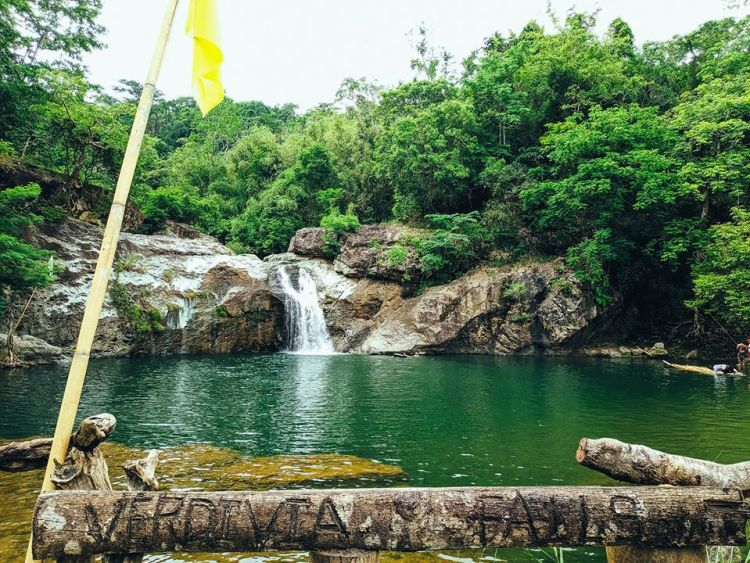 Verdivia Falls is one of the tourist spots in Bulacan.
