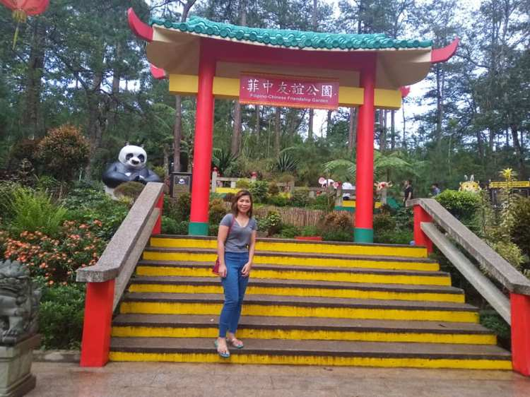 One of the sights at Friendship Garden in Botanical Garden Baguio