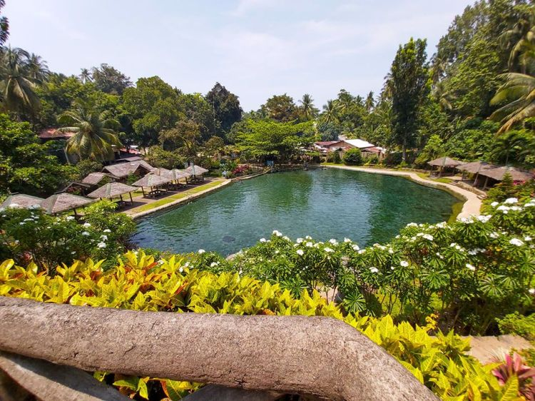 Sto Nino Cold Spring is one of the tourist spots in Camiguin Island